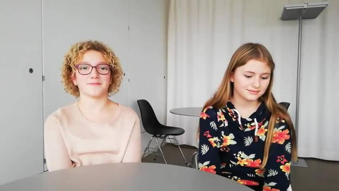 Schülerinnen besuchen am Zukunftstag die Redaktion der Solothurner Zeitung