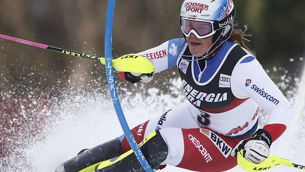 Mélanie Meillard verletzte sich im Training schwer