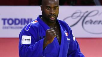 Bleibt im Judo das Mass aller Dinge: Teddy Riner