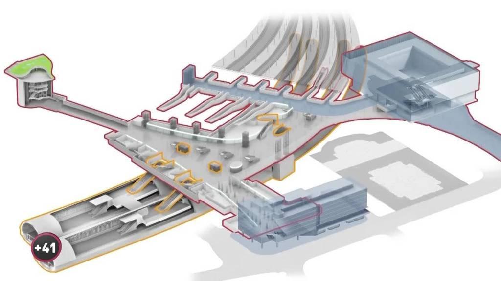 Baustelle Bahnhof Bern: Der Perronbauer