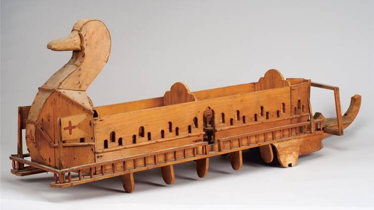 Schiff mit Entenkopf, von Theodor K. (1875–1941), aus der Sammlung Königsfelden.