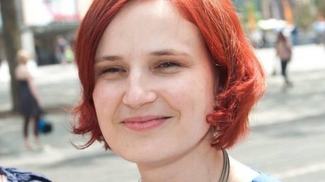 Die neu gewählte Co-Präsidentin der deutschen Linken: Katja Kipping (Archiv)