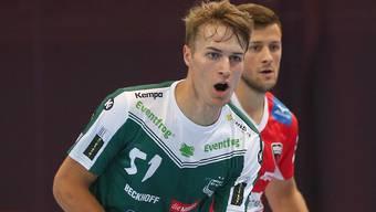 Dominik Alder führte die dritte SVWE-Linie gegen seine Ex-Teamkollegen zu fünf Toren in den ersten zweit Dritteln.