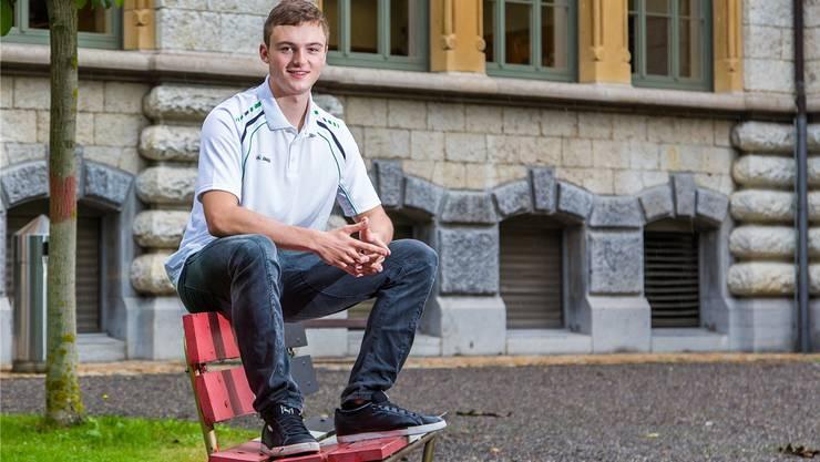 Keine Angst vor der älteren Konkurrenz: Der 19-jährige Michael Brunner blickt den Masters gelassen entgegen.