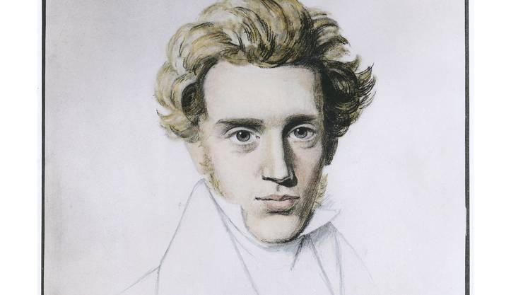 Sören Kierkegaard (1813–1855): Unerbittliches Denken gegen den Mainstream.