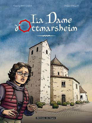 Das Cover des Comics; im Bild Anna.