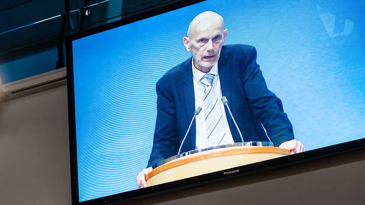Daniel Koch, Leiter Abteilung übertragbare Krankheiten des Bundesamtes für Gesundheit, rechnet mit der Ausweitung von Massnahmen gegen das Coronavirus in der Schweiz.