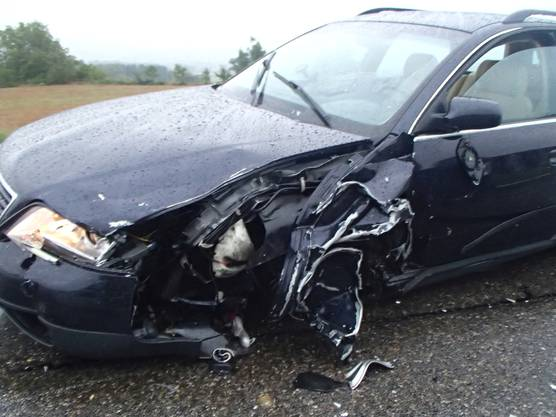 Ein 39-jähriger Nigerianer überholte am Montagmorgen einen Sattelschlepper