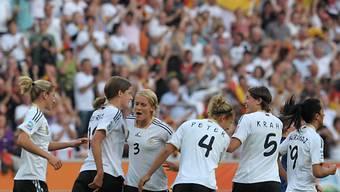 Deutschlands Frauen sind für die Viertelfinals gerüstet