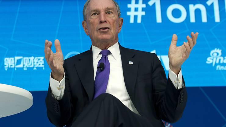 Der ursprünglich aus einfachen Verhältnissen stammende US-Milliardär Michael Bloomberg hat seiner einstigen Universität erneut eine grosszügige Geldspende zukommen lassen. (Archivbild)