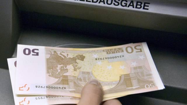 Am Donnerstag war es nicht überall und ständig möglich, Euros am Bancomaten zu erhalten. (Symbolbild)