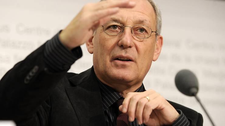 Carlo Schmid-Sutter, Präsident der Eidgenössischen Elektrizitätskommission (ElCom). (Archivbild)