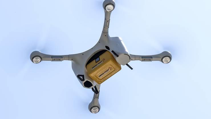 Beim Transport von Blutproben per Drohne ist die Schweiz auf der ganzen Welt zu einem Vorbild geworden. (Archiv)