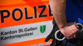 In St. Gallen wurde am Freitagabend eine Frau verhaftet, nachdem sie ihren eritreischen Freund mit einem Messer angegriffen und verletzt hatte. (Symbolbild)