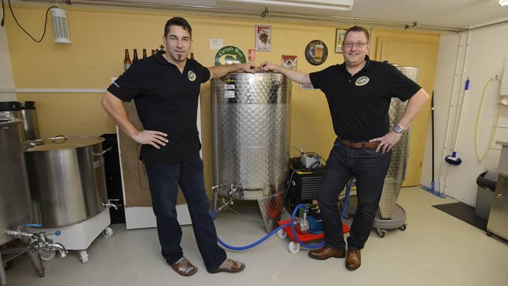 Die Brauerei ist heute noch im Keller eines Privathauses