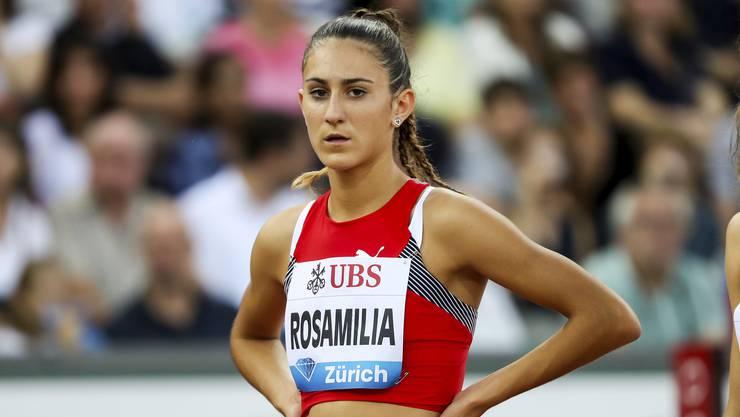 Multi-Talent Valentina Rosamilia darf derzeit in Rom nur dank einer Sonderbewilligung draussen trainieren