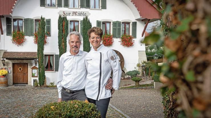 Hansueli und Barbara Zuber haben die «Mühle» zu einer der besten Adressen in der Region gemacht.