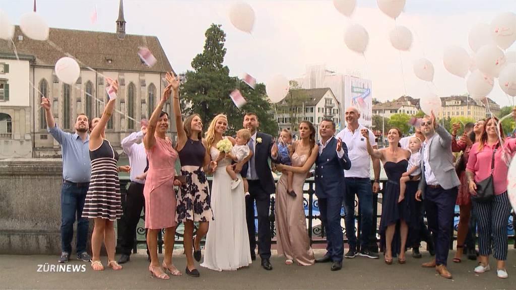 Zürcher Standesamt verrechnet Hochzeitspaaren zu viel