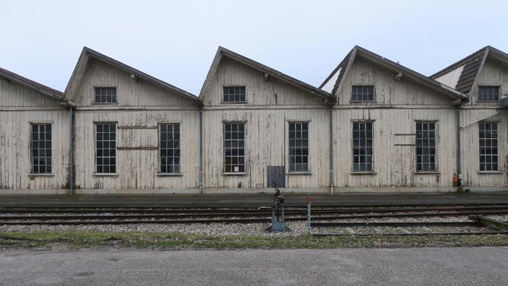 Industrie- und Bahnbauten finden ebenso Eingang in den Kunstdenkmälerband wie hier die SBB-Reparaturwerkstätten an der Gösgerstrasse.
