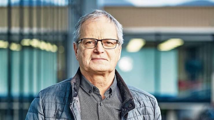 Jörg Meier geht in Rente – dazu fällt Frau Lüscher ein Zitat von Max Frisch ein.