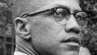 Malcolm X anno1963, zwei Jahre bevor er ermordet wurde (Archiv)