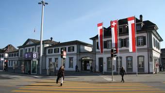So sieht der neue Bahnhof in Solothurn aus