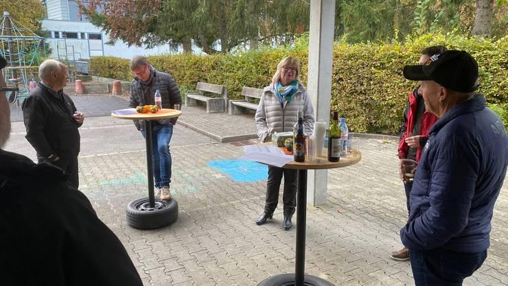 Wahlapéro mit Grossratskandidatin Marlen Schmid