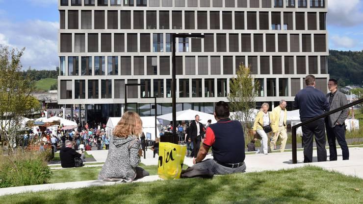 Blick auf den Campus in Brugg-Windisch.
