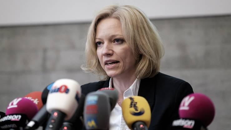 Hat das neue Amt schon so gut wie sicher: Die Aargauer Staatsanwältin Barbara Loppacher.