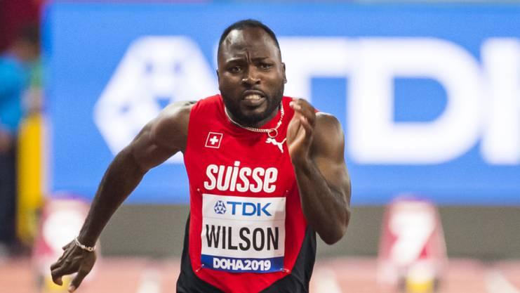 Alex Wilson konnte in Doha nicht wie erhofft auftrumpfen. Für das mit seiner Breite beeindruckende Team von Swiss Athletics war das kein Problem.