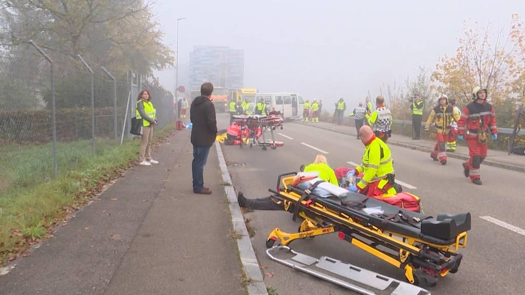 Katastrophen-Übung in Bülach