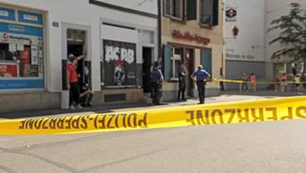Der angeschossene Mann wurde nicht schwer verletzt.