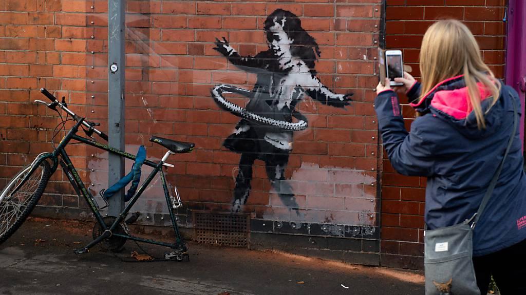 Ein Phantom in der Pandemie - Wie Banksy sich dem Virus widmet