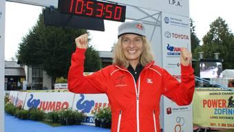 PM Zofingen 2018, Natascha Badmann startet über die Kurzdistanz.