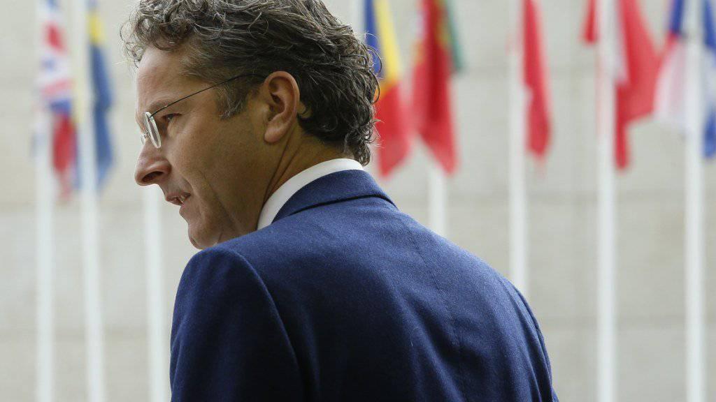 Fast fünf Jahre lang präsidierte er die Euro-Gruppe: Nun gibt der Niederländer Dijsselbloem alle seine Ämter ab und steigt gänzlich aus der Politik aus.