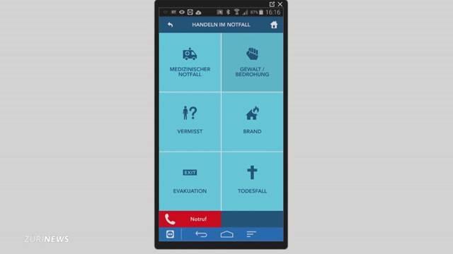 Notfall-App für Lehrer