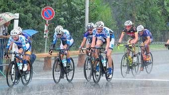 Petrus war den Rad-Cracks im Vorjahr nicht hold Beim 42. GP Olten im Bifangquartier goss es während des gesamten Rennens wie aus Kübeln.