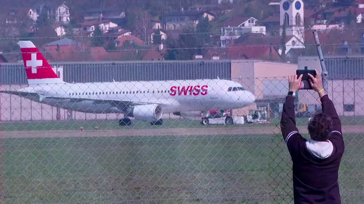 Wegen Platznot: Hier landen die Swiss-Flieger aus Kloten in Dübendorf