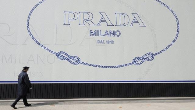 Weltweit bekannt: Prada-Werbung in Japan