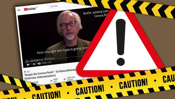 Videos, wie sie der deutsche Arzt Wolfgang Wodarg verbreitet, sind brandgefährlich.
