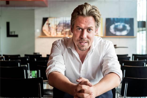 Das ist er, der künftige Intendant des Theater Basel: Benedikt von Peter.