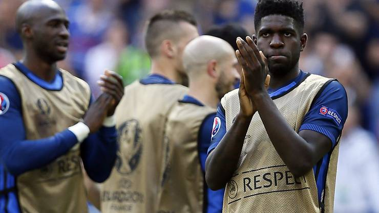 Vor seinem Länderspiel-Debüt: Der 22-jährige Samuel Umtiti rückt vor dem Viertelfinal des EM-Gastgebers Frankreich in den Fokus