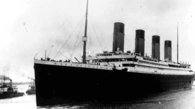 Die Titanic auf einer Aufnahme von 1912 (Archiv)