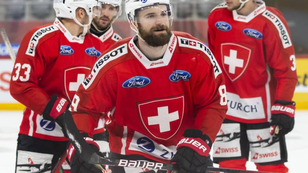 Der Lausanner Fabian Heldner erzielte im Mitteldrittel das 1:0