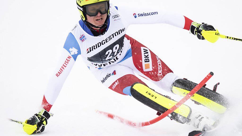 Nils Mani wurde in Kitzbühel Abfahrts-Zweiter im Europacup