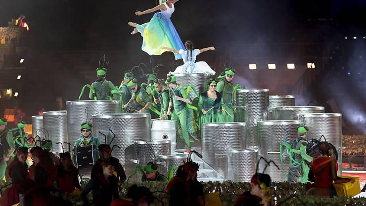 Die Organisatoren erwarten bis zu einer Million Besucher an der Fête des Vignerons in Vevey VD. (Archivbild)