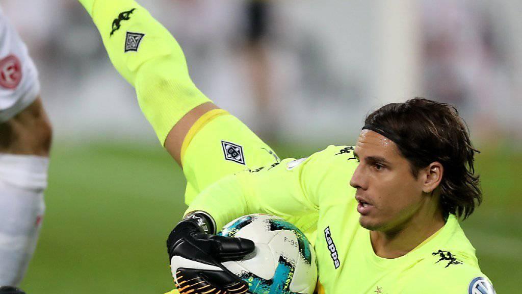 Yann Sommer hielt seinen Kasten gegen Düsseldorf rein