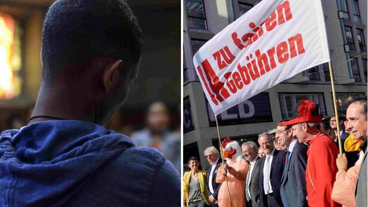 Im Kanton Zürich stehen zwei Vorlagen zur Abstimmung: Die Gebühren-Initiative und die Abschaffung der Härtefallkommission.