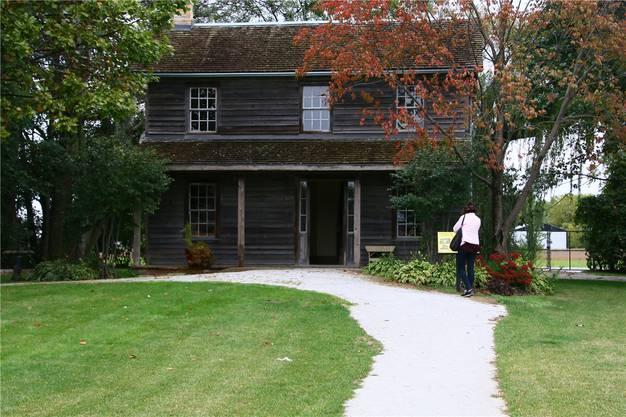 Im ersten Zuhause in der Freiheit ist nun das «Uncle Tom»-Museum untergebracht.
