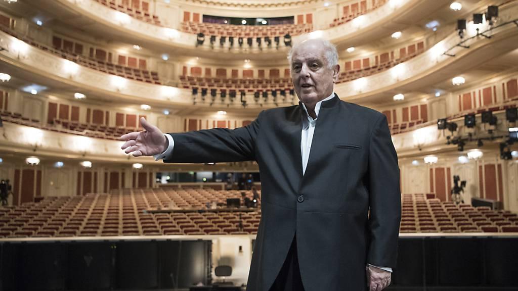 Dirigent Barenboim mit Konrad-Adenauer-Preis ausgezeichnet